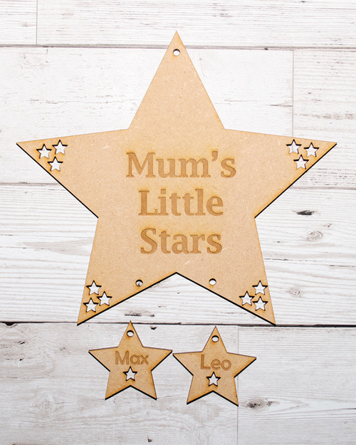 Mum's Little Star - 2 stars
