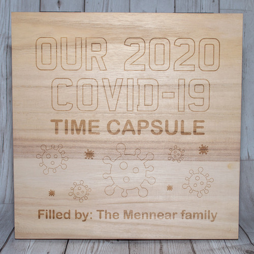 Our Covid 2020 Time Capsule Memories Box