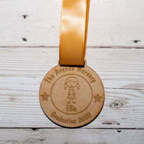 Personalised Graduation Medal