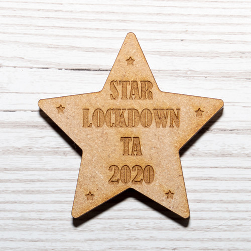Star Lockdown Teaching Assistant TA Magnet