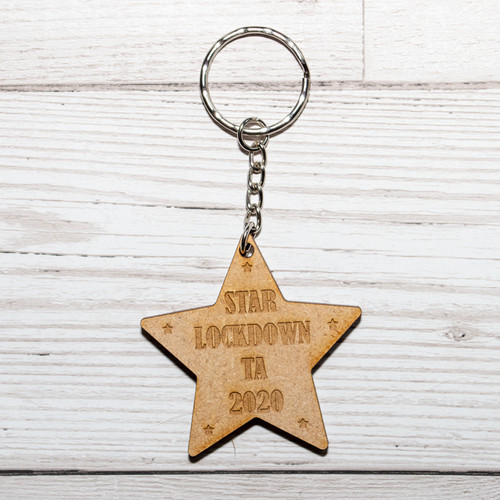 Star Lockdown Teaching Assistant TA Keyring