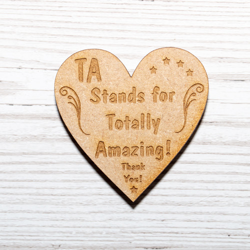 TA Stands For Totally Amazing Magnet
