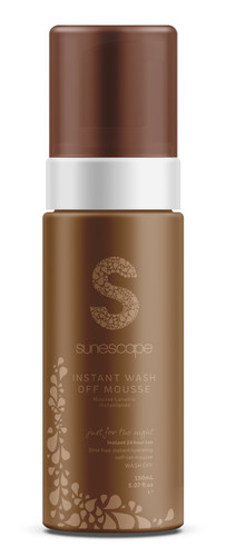 Instant Wash Off Tanning Mousse 150ml