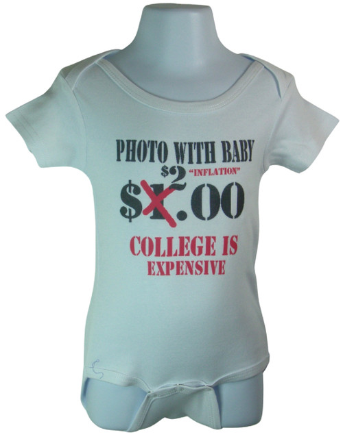 Photo With Baby $2.00 Available in sizes 0-6 Months, 6-12 Months,12-18 Months.