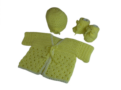 Completely Handmade Size Newborn to 3 Months.