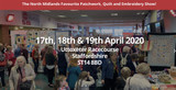 8TH BRITISH QUILT & STITCH VILLAGE 17 TO 19 APRIL 2020