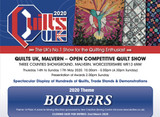 QUILTS UK MALVERN 14 TO 17 MAY 2020