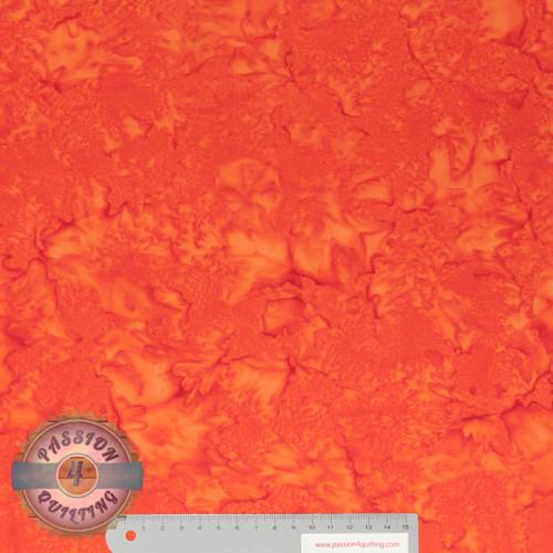 Batik BC05 orange by Jacqueline de Jonge per 25cm