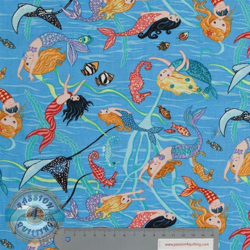 Mermaid Swimming per 25 cm