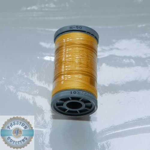Presencia Cotton Quilting Thread 50wt 500m Colour 103 Yellow