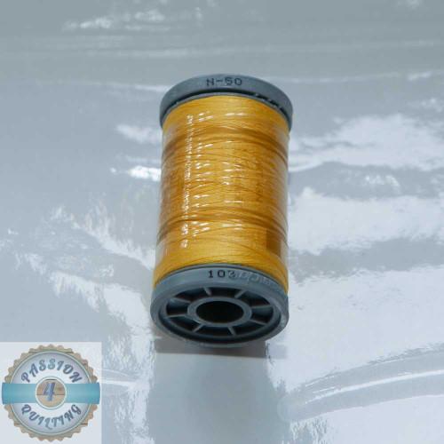 Presencia Cotton Quilting Thread 50wt 500m Colour 103 Yellow