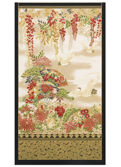 Imperial Shades of the season Metallic 17664-3 14-Red Panel