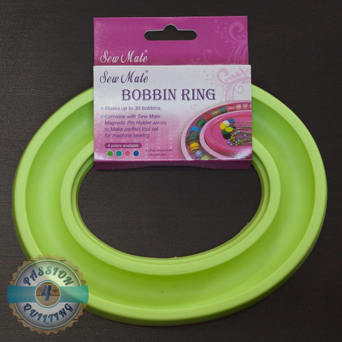 Sew mate bobbin holder in green