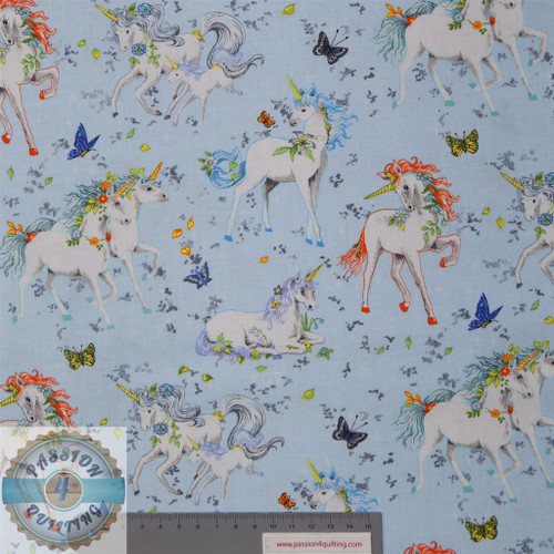 Pretty Please Unicorns 89750 Blue
