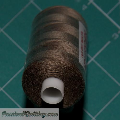 Earth Brown Super stitch polyester thread