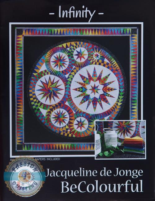 Infinity Quilt Kit designed by Jacqueline de Jonge