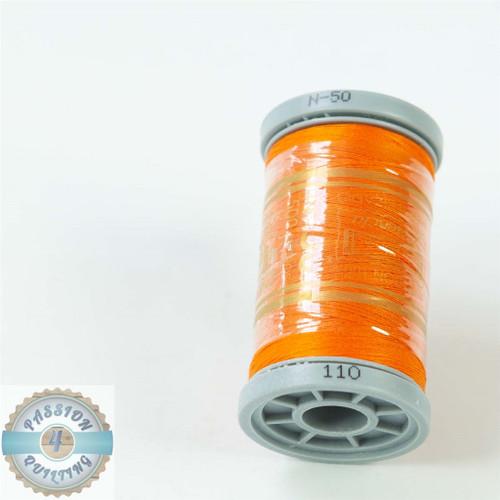 Presencia Cotton Quilting Thread 50wt 500m Colour 110 Orange