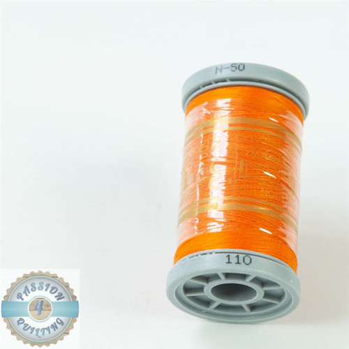Presencia Cotton Quilting Thread 50wt 500m Colour 110 Orange