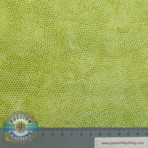 Dimples lime green. per 25cm