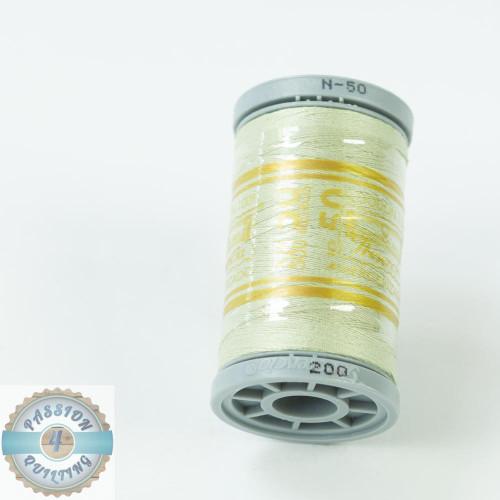 Presencia Cotton Quilting Thread 50wt 500m Colour 200 Light Moss