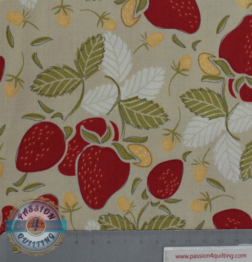 Vintage Berries  16101  Dark cream per 25 cm