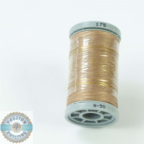 Presencia Cotton Quilting Thread 50wt 500m Colour 175 Dark Straw