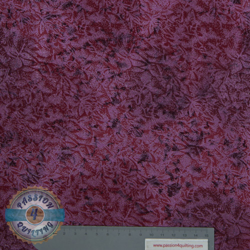 Fairy frost light and dark red 136 per 25cm