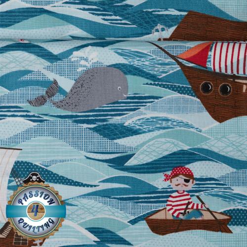 Pirate ships per 25cm