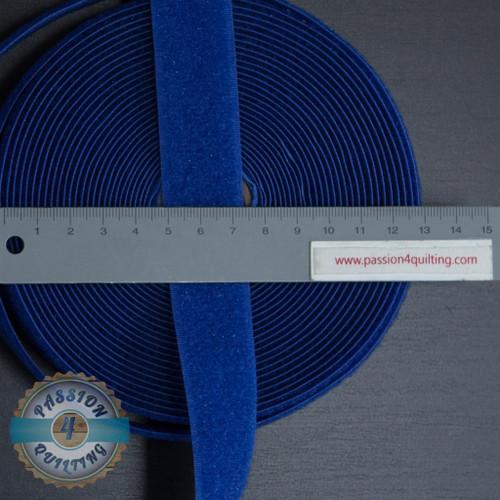 Velcro Fastener in Blue 25cm