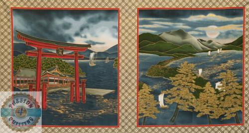 Tori-10 Oriental Gate panel
