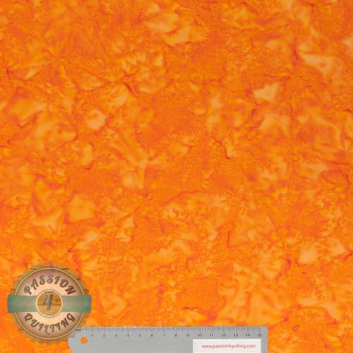 Batik BC04 orange by Jacqueline de Jonge per 25cm