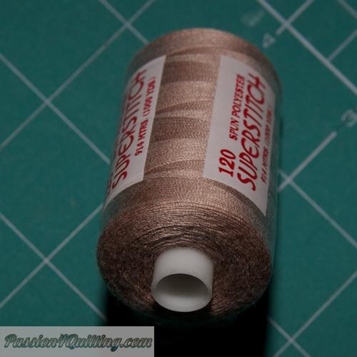 Light brown Super stitch polyester thread