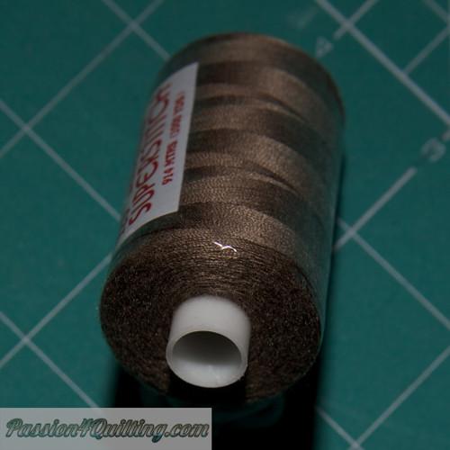 Brown Super stitch polyester thread