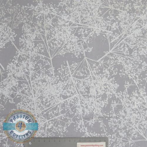 Sparkle and Fade White & Silver & Silver 4321 per 25cm