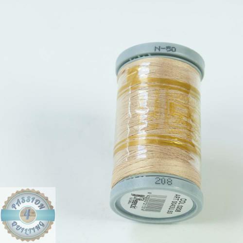 Presencia Cotton Quilting Thread 50wt 500m Colour 208 Dark Cream