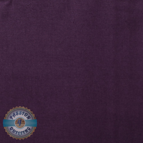 Deep Purple plain fabric per 25cm