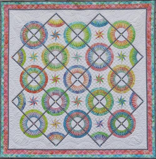 La Vie est Belle quilt pattern by Jacqueline de Jonge