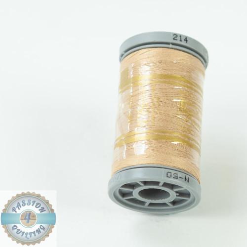 Presencia Cotton Quilting Thread 50wt 500m Colour 214 Light Brown