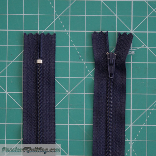 Conventional Nylon zipper 33cm Navy