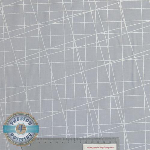Sparkle and Fade Slate & Silver & Silver 4324 per 25cm