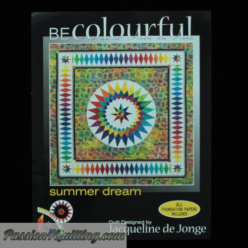 Summer dream pattern designed by Jacqueline de Jonge