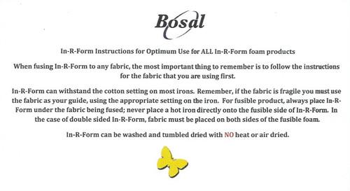 """Bosal In-R-Foam 0.5m x 58"""""""