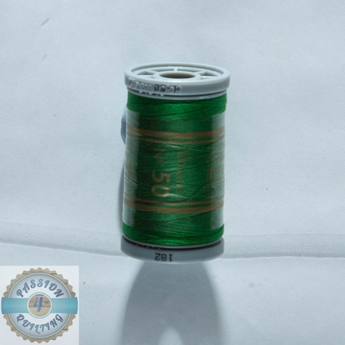 Presencia Cotton Quilting Thread 50wt 500m Colour 182 Green