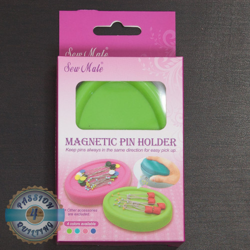 Sew mate magnetic pin holder in green