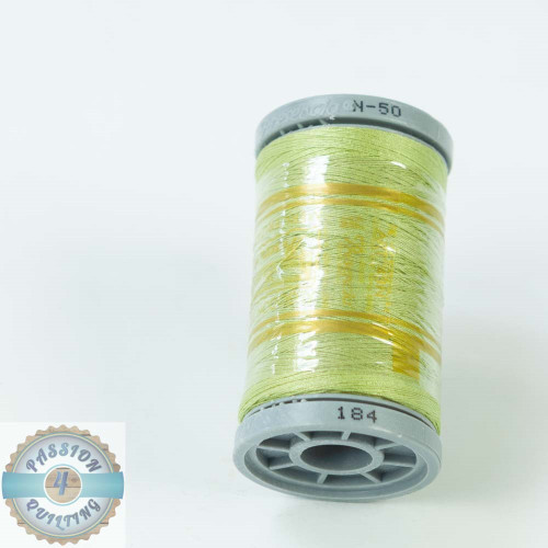 Presencia Cotton Quilting Thread 50wt 500m Colour 184 Green