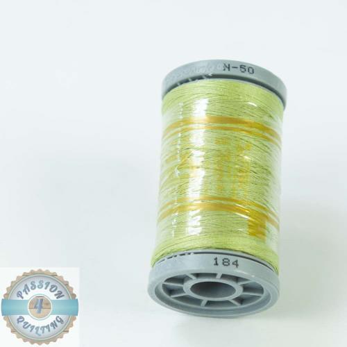Presencia Cotton Quilting Thread 50wt 500m Colour 184 Green