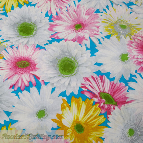 Garden party in yellow and white and pink per 25cm