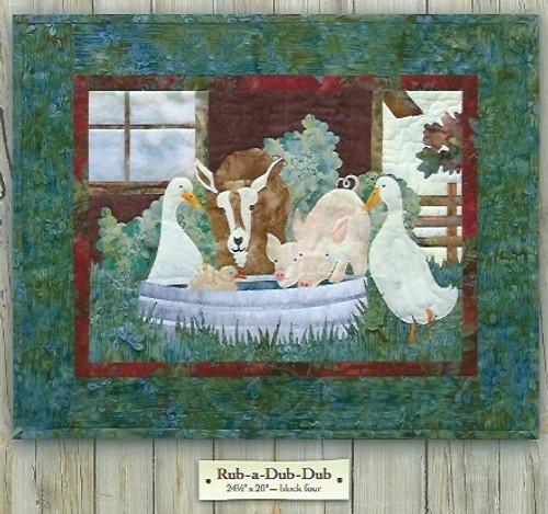Back on the Farm Rub-a-Dub- Dub by McKenna Ryan