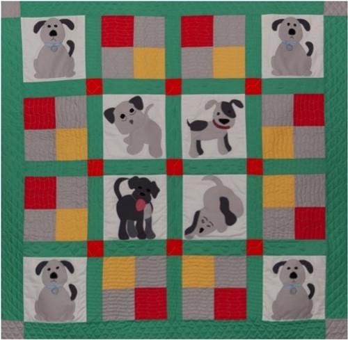 Doggie Delight Quilt Pattern