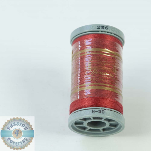 Presencia Cotton Quilting Thread 50wt 500m Colour 286 Rhubarb